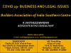 COVID 19 - BUSINESS AND LEGAL ISSUES (Builders Association of India Southern Centre)